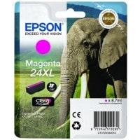 Cartouche dencre EPSON T2433 XL Elephant magenta