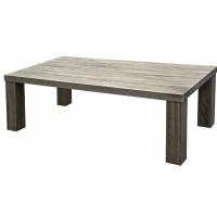 Table basse UB DESIGN Table basse Ines rectangulaire en finition chene