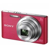 Appareil photo numérique compact SONY CyberShot DSC W830 rose pack