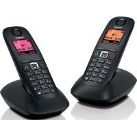 Téléphone sans fil SIEMENS GIGASET A540 Duo noir