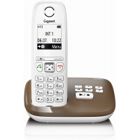 Téléphone mains libres SIEMENS GIGASET AS405A chocolat