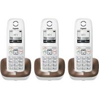 Téléphone mains libres SIEMENS GIGASET AS405 Trio chocolat