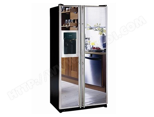 refrigerateur americain miroir refrigerateur americain miroir sur enperdresonlapin. Black Bedroom Furniture Sets. Home Design Ideas
