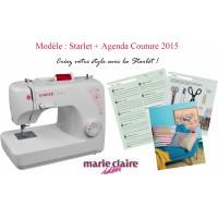 Machine à coudre SINGER MC Starlet Agenda Couture Marie Claire