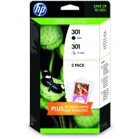 Pack cartouches dencre HP HP 301 Pack noircouleurs