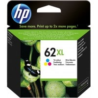 Pack cartouches dencre HP HP 62 couleurs XL