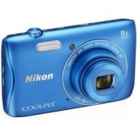 Appareil photo numérique compact NIKON CoolPix S3700 bleu