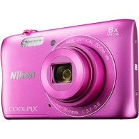 Appareil photo numérique compact NIKON CoolPix S3700 rose