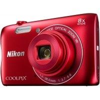 Appareil photo numérique compact NIKON CoolPix S3700 rouge