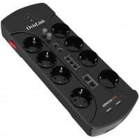 Multiprise OVISLINK PRIOVIXE8TV Parasurtenseur Multimédia