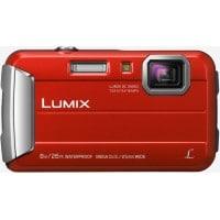 Appareil photo numérique compact PANASONIC Lumix DMC FT30 rouge