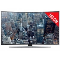 TV LED 4K incurvé 3D 163 cm SAMSUNG UE65JU7500