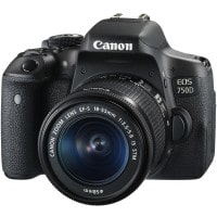Appareil photo numérique reflex CANON EOS 750D EF S 18 55 IS STM