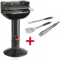 Barbecue charbon BARBECOOK ARENA Black ustensiles
