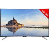TV LED 4K incurvé 3D 140 cm PANASONIC TX55CR430E