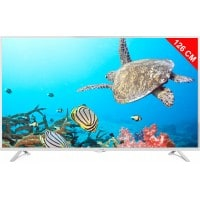 TV LED 4K 126 cm THOMSON 50UA6406W Blanc