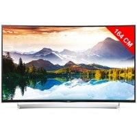 TV LED 4K incurvé 3D 164 cm LG 65UG870V