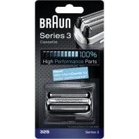 Tête de rasoir BRAUN Cassette rasoir 32 S Silver Série 3