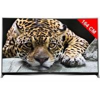 TV LED 4K incurvé 3D 164 cm PANASONIC TX 65CR850E