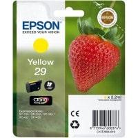 Cartouche dencre EPSON T2984 Fraise jaune