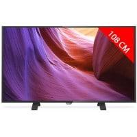 TV LED 4K 108 cm PHILIPS 43PUH490088
