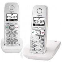 Téléphone sans fil SIEMENS GIGASET E310 Duo Comfort